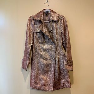 Rampage size M goldfish bronze coat with belt